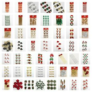 Handcrafted Christmas Decorations Handmade Card Making Embellishment Arts Crafts