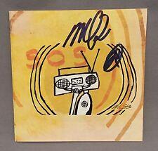 Michael Franti SIGNED The Sound Of Sunshine CD Booklet AUTO COA Music Lyrics
