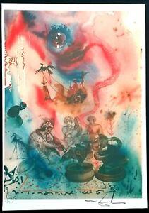 Salvador Dali - Lithographie Limitierte Auflage Nr. 65/350