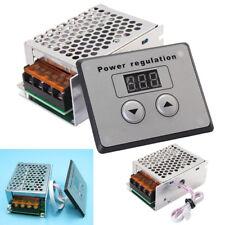 4000W 220V AC SCR Voltage Regulator Dimmer Electric Motor Speed Temp Controller