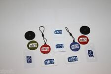 ZipNFC Two of each Mixed NFC tag sticker set Windows Android HTC Samsung Nokia