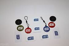 Zipnfc due di ogni tag NFC Misto Adesivo Set Windows Android HTC Samsung Nokia