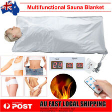 220v Far Infrared Sauna Blanket Body Shape Slimming Fitness Machine AU Plug