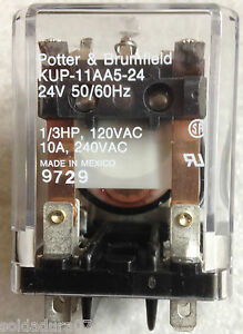 Thermal Arc HOBART Parts 406325-001 Control Relay  KUP 11AA5-24 Potter Brumfield