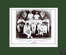 MOUNTED CRICKET TEAM PRINT - MIDDLESEX - 1895