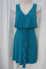 Jessica Simpson Dress Sz 2 Teal Tidepool Sleeveless Casual Business Cocktail