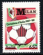 ITALIA 1988 - SCUDETTO MILAN - L. 650 NUOVO **