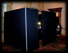 Photo Booth Enclosure (Pipe and Drape)