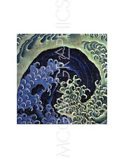 "HOKUSAI KATSUSHIKA - FEMININE WAVE - ART PRINT POSTER 11"" X 14"" (1523)"