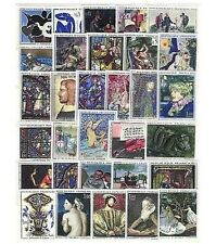 ARTE DI FRANCIA, QUADRI, 31 FRANCOBOLLI NUOVI ** French Art 31 stamps MNH (F12)