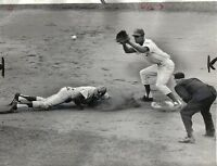 1964 Baseball Wire Photo Andre Rodgers Chicago Cubs Willie Davis L.A. Dodgers