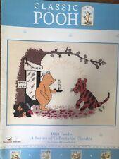 Classic Winnie The Pooh & Tiger Candle Cross Stitch Pattern