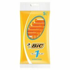 BIC 1 Sensitive Disposable Razor Blades - Pack of 5
