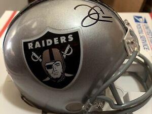 Derek Carr Las Vegas Raiders signed autographed Mini Helmet