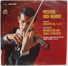Classical LP RCA Living Stereo LSC2610 SD 1S  Paganini Concerto 1 Friedman Hendl
