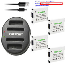 Kastar Battery Dual USB Charger for Canon NB-11L & Canon PowerShot A2300 A2300IS
