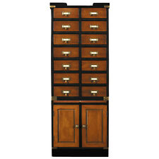 """Collectors Cabinet II, Doors 57"""" Nautical Collection Collectibles Storage"""