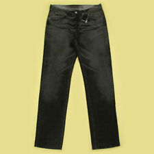 Extra Long Faded Classic Fit, Straight Jeans for Men