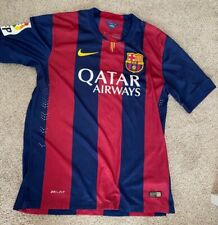 FC Barcelona Qatar Airways Nike Dri-fit 2014 authentic jersey
