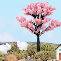 AM_ AM_ Mini Tree Miniature Fairy Garden Figurine Micro Landscape Bonsai DIY Dec