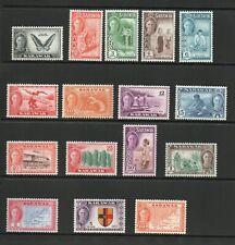 SARAWAK SG 171-186 1950 GVI DEFINITIVE  SET MNH