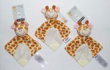 3 x Ergee KIK Giraffe Schmusetuch Schnuffeltuch Kuscheltuch mit Beißecke in NEU