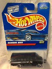 NIB 1997 Mattel Hot Wheels '88 Ford Conventional Police Bus Prisoner Transport