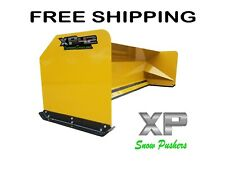 12' Xp42 Loader Snow pusher boxes backhoe snow plow Express Steel Free Shipping