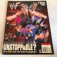 WWF Wrestling Magazine December 2001 RVD Lita Jim Ross WWE