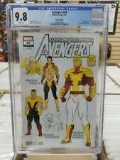 Avengers 40 design variant CGC 9.8