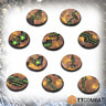 TTCombat BNIB 32mm Tomb World Bases TTSCR-SFG-014