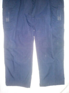 🚒5.11 Taclite Pro Tactical Pants Navy Blue Ripstop Fabric Fire EMS 34x32🙂