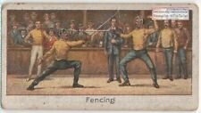 Stenson-Cooke British Olympian Fencer Epee Foil 1920s Trade Ad Card