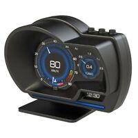 Auto Hud Head Up Anzeige Obd2 + GPS Dual System Tachometer Digitale Projekt L2H6