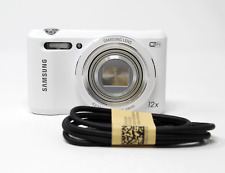 SAMSUNG WB35F White 16.2MP Smart WiFi & NFC Digital Camera with 12x Optical Zoom