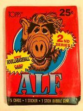 48 Alf Trading Card 2nd Series Unopened Wax Packs Tops 1987 ~ Cat Eating Alien ~