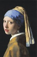 Fine Art Quality Postcard The Girl with a Pearl Earring (c1665) Johannes Vermeer