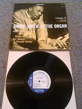 JIMMY SMITH - AT THE ORGAN VOL. 2 LP EX ( + ) !!!! U.S BLUE NOTE BST 81552
