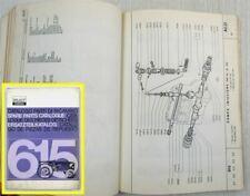 Ersatzteilkatalog Fiat 615 Traktor Ersatzteilliste Catalogo Parti Parts List 65