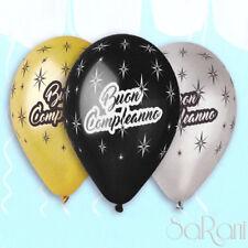Palloncini Buon Compleanno 20 pz Palloni Festa Party Decorazioni Addobbi 30 cm