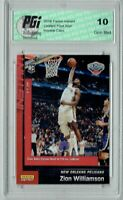 Zion Williamson 2019 Panini Instant #107 1 of 946 Made Rookie Card PGI 10