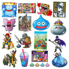 17pcs Dragon Quest Decal Stickers Label Video Game DQ11 4 Builders Notebook Car2