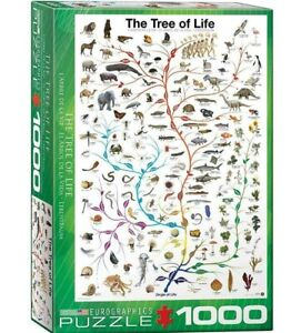 Eurographics Evolution The Tree of Life 1000-Piece Puzzle Brand New Sealed
