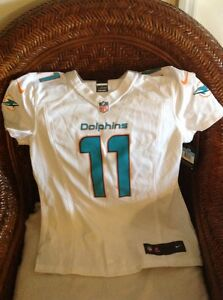 Miami Dolphins NFL nike Jersey mike wallace #11 new with tags size M womens