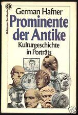 Hafner, German; Prominente der Antike, Portraits, 1983