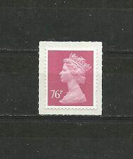 Great Britain Machin 76p 2B OFNP SA Code M11L De La Rue SG U2927 DG 760.1.1 MNH