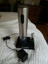 Kalorik Electric Wine Bottle Opener w/ Foil Cutter- Rechargeable!