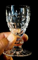 A Beautiful Cut Crystal Port Glass