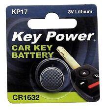 KEYPOWER Car Keyfob Battery Cr1632 - Lithium 3v Travel Leisure Key Fob Batteries