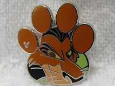 2017 Disney Hidden Mickey Trading Pin The Lion King Characters Paw Shape Scar